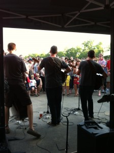 photo by caryn of the solar stage at reverb nashville