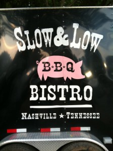 photo by caryn of slow and low bbq bistros food truck