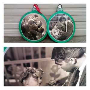 photos by caryn, it's a wonderful life ornament