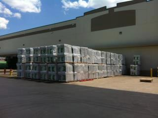 photo by caryn, 322,560 rolls of toilet paper donated over 3 days in 2012