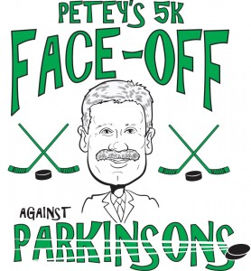 Petey's 5K Face-Off Against Parkinsons. Photo courtesy of Petey's 5K Face-Off Against Parkinsons