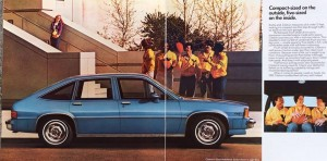 1982 Chevrolet Citation Brochure, photo by Caryn