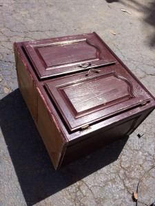 Discarded Cabinet Junk King of Nashville Hauled Away, photo by Caryn