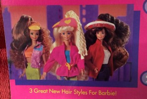 Mattel Barbie Magic Change Hair, photo by Caryn