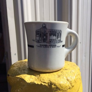 The Krystal Shenango Coffee Mug, photo by Caryn