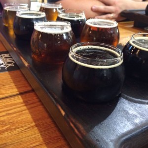 Black Abbey Beer Flight - Music City Brew Tours, photo by Caryn