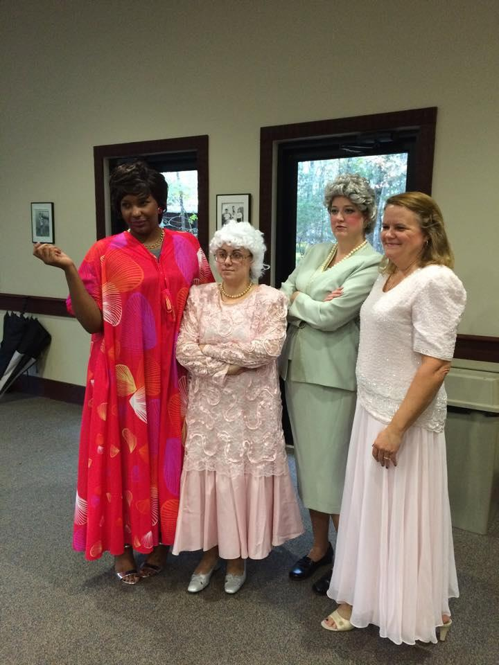 Golden Girls Halloween Costume, photo courtesy of R. Abel