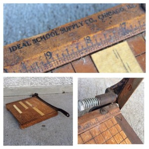 Ideal School Supply Ingento #4 Guillotine Paper Cutter, Photo by Caryn